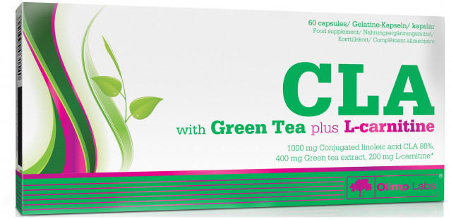 Olimp CLA Green Tea plus L-carnitine (60 кап)