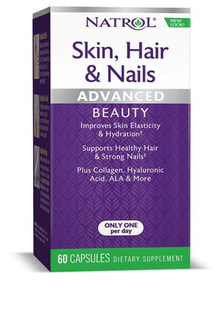 Natrol Skin Hair Nails Women`s (60 кап)
