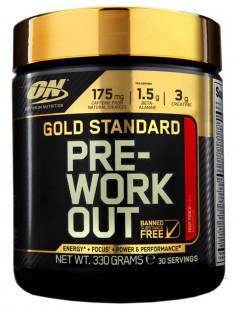 Optimum Nutrition Gold Standart PRE-Workout (30 порций)