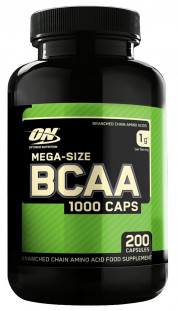 Optimum Nutrition BCAA 1000 (200с)