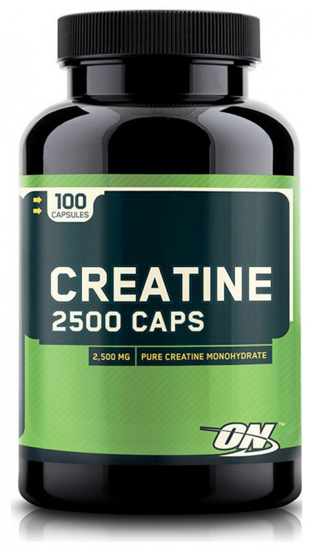 Optimum Nutrition Creatine 2500 mg (100 кап)