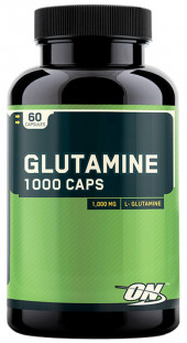 Optimum Nutrition Glutamine caps 1000 mg. (60c)