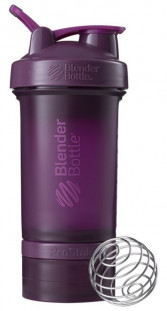 Шейкер BlenderBottle ProStak сливовый (624 мл)+2 контейнера