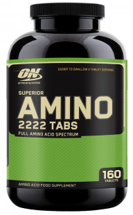 Optimum Nutrition Superior Amino 2222 (160 таб)