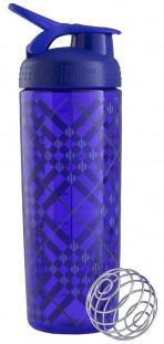 Шейкер BlenderBottle SportMixer Sleek фиолетовый Tartan Plaid Pattern (828 мл)