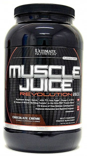 Гейнер Ultimate Nutrition Muscle Juice Revolution 2600 4,69 lb (2000 г)