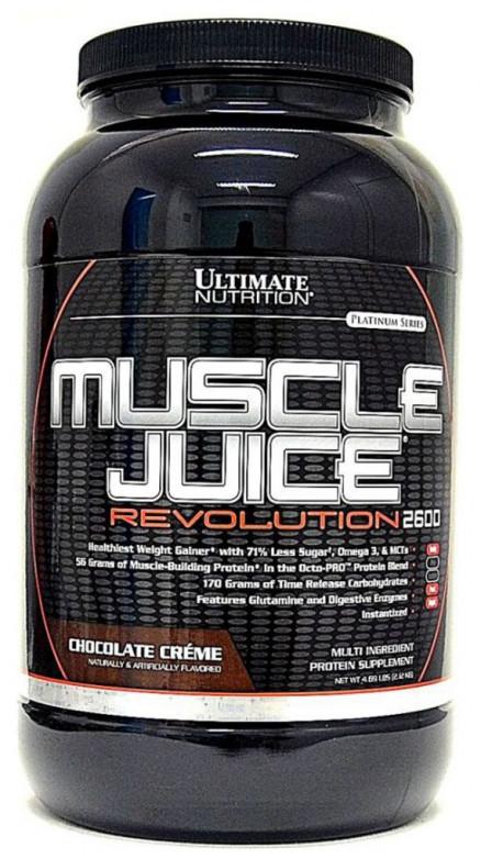 Гейнер Ultimate Nutrition Muscle Juice Revolution 2600 4,69 lb (2000 г)