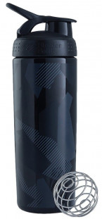 Шейкер BlenderBottle SportMixer Sleek черный Shattered Slate Pattern (828 мл)