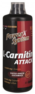 Power System L-Carnitine Attack 3600 144000 мг (1000 мл)