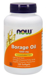 NOW Borage Oil 1500 мг (60 кап)