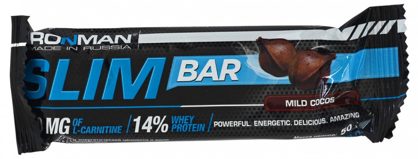 Ironman Slim Bar с L-Carnitine (50 г)